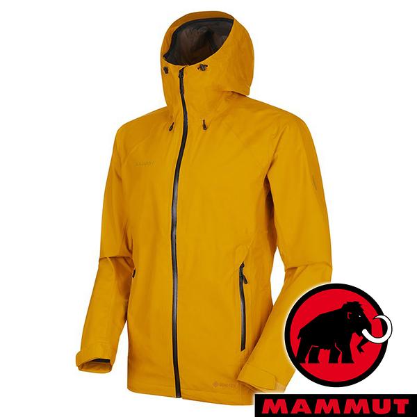 【MAMMUT 長毛象】男 Convey Tour 單件式GT外套『金黃』1010-26032 戶外 露營 登山 外套 防風 保暖 禦寒