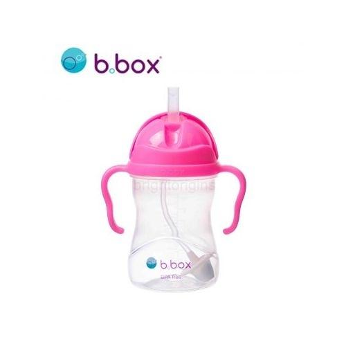 澳洲 b.box 二代升級版防漏水杯240ml/8oz(亮粉)[衛立兒生活館]