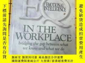 二手書博民逛書店EQ罕見IN THE WORKPLACE(英文原版)Y20985
