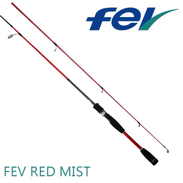 漁拓釣具 FEV Red Mist S-602L [路亞竿]