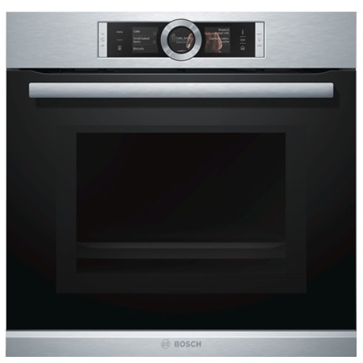 BOSCH 德國 博世 HNG6764S1 嵌入式微波蒸氣烤箱 (60cm)寬【07-7428010】
