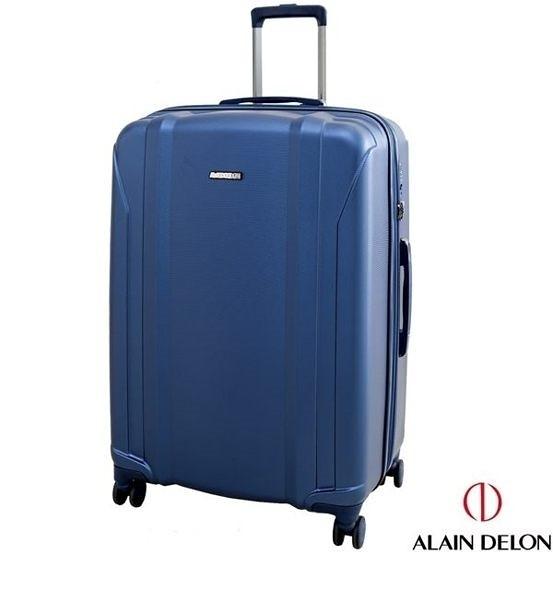ALAIN DELON亞蘭德倫 星燦旅者系列 可擴充設計 行李箱/旅行箱-24吋(藍)
