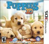 3DS Puppies 3D 可愛小狗(美版代購)