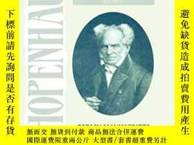 二手書博民逛書店Schopenhauer:罕見Manuscript Remains-叔本華:手稿遺存Y436638 Arthu