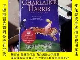 二手書博民逛書店Definitely罕見DeadY15389 by Charla