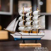 創意酒柜家居裝飾品工藝品擺設木帆船模型