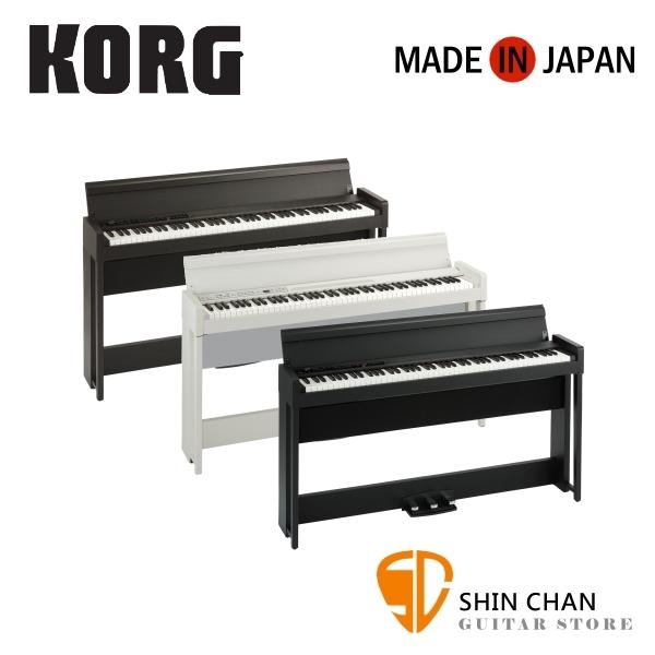 Korg C1Air 88鍵掀蓋式 數位電鋼琴 日本製造  附原廠全配備 多樣配件另贈琴椅  兩年保固【C1Air】