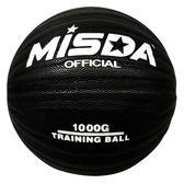 【優選】加重籃球黑色教練超重耐磨藍球訓練