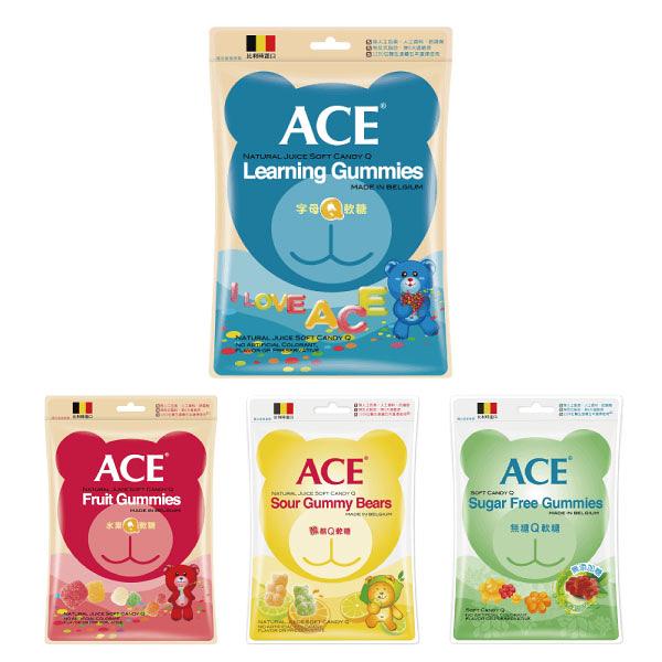 比利時 ACE Q軟糖隨手包(4種可選)48g