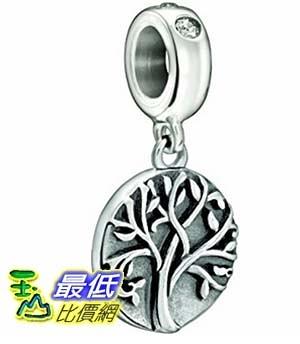 [美國直購] Authentic Chamilia Tree of Life Crystal Swarovski Charm Bead 2025-0973 耳環
