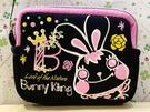 【震撼精品百貨】 Bunny King_邦尼國王兔~香港邦尼兔 錢包/零錢包-黑#72471
