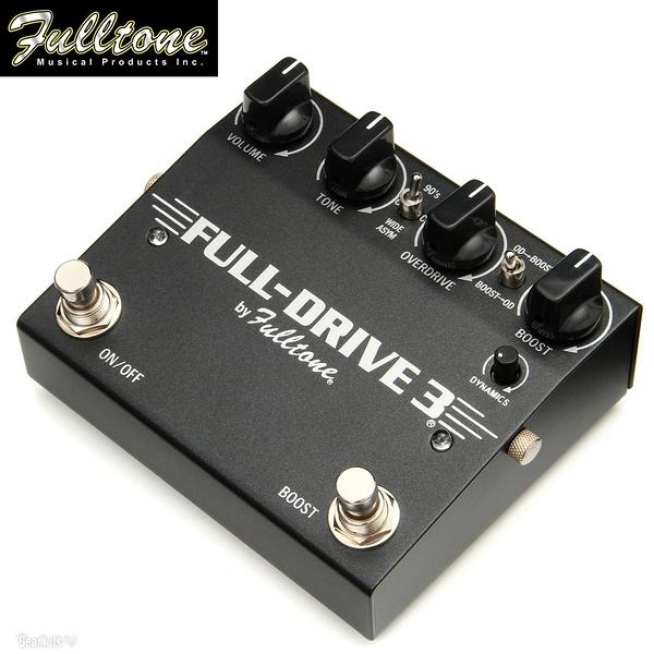 【小叮噹的店】全新 美國 Fulltone Full-Drive3 手工破音效果器 low to mid-gain   公司貨