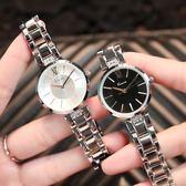 簡約女士鍊條手錶防水表配飾禮物【販衣小築】