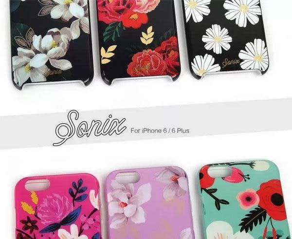 【SZ】iPhone  6s iPhone 6 時尚花 大麗花 美國Sonix 兩件套 TPU+PC 透明邊框 矽膠軟殼 iPhone 6 plus 手機殼
