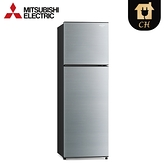 [MITSUBISHI 三菱]288公升 雙門變頻電冰箱-太空銀 MR-FC31EP-SSL-C