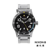 【官方旗艦店】NIXON DIPLOMAT 正裝錶 高階款 藍寶石鏡面 銀 潮人裝備 潮人態度 禮物首選