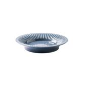 赫本陶瓷8.5吋湯盤 灰藍