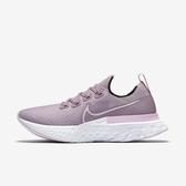 Nike W React Infinity Run Fk [CD4372-501] 女鞋 運動 休閒 慢跑 緩震 粉紫
