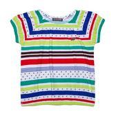 『小鱷魚童裝』條紋縮口T恤(02號~08號)339450
