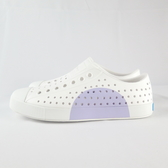 Native JEFFERSON BLOCK 洞洞鞋 半月系列 111001028872 女款 白X紫【iSport】