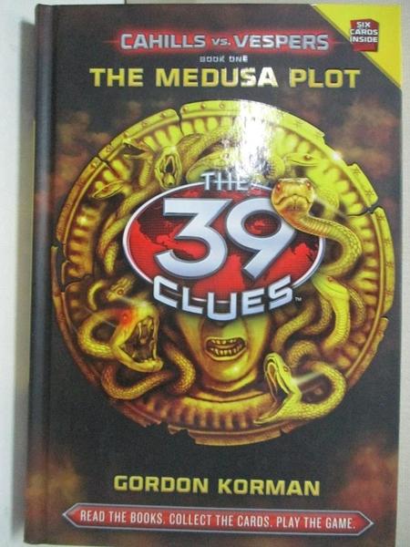 【書寶二手書T2/原文小說_GTI】The Medusa Plot_Korman, Gordon
