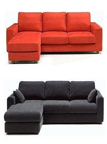 【系統家具】L型麂皮絨布沙發 貴妃椅or3人座+腳椅 工廠直營 台中市免運費