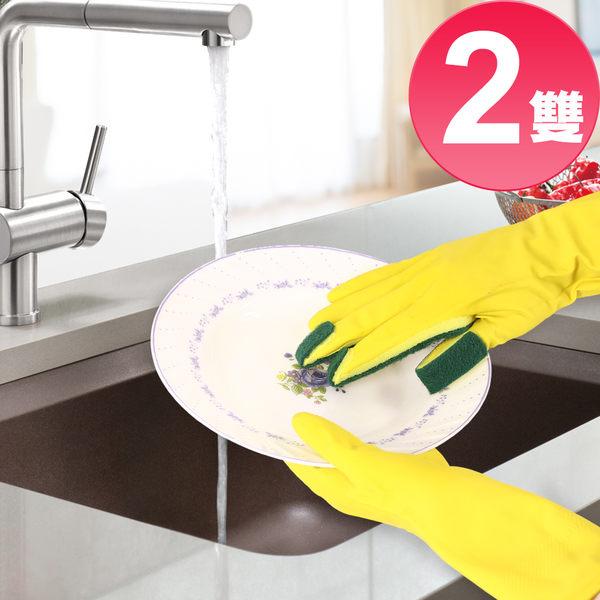 全能去污王 多功能好清潔右手菜瓜布手套2雙【MP0293】(SP0188S)