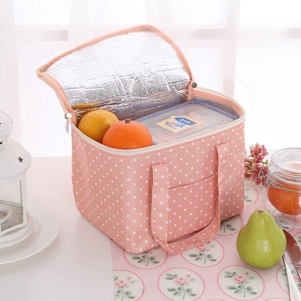 【方形野餐袋】加大款 防水保溫袋 隔熱飯盒袋 加厚手提式便當包 鋁箔保冰袋 保鮮便當袋 保溫包