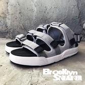 Air Walk 淺灰 三槓 魔鬼氈 涼鞋 拖鞋 男女 情侶鞋 (布魯克林) 2018/7月 A755230-316