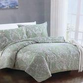 Galatea  清新古雅-天絲雙人加大舖棉兩用被套床包四件組