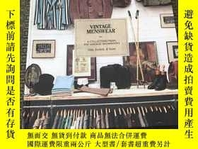二手書博民逛書店Vintage罕見Menswear -A Collection From The Vintage Showroom