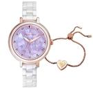 RELAX TIME 極光系列 陶瓷手錶(RT-92-3)送手環/薰衣紫