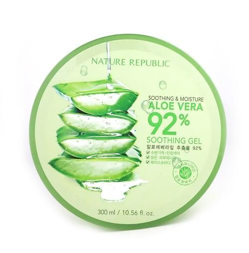韓國 Nature Republic 92%蘆薈補