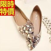 平底鞋-氣質個性唯美女尖頭鞋2色58l54【巴黎精品】