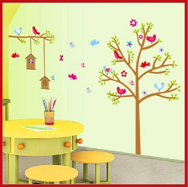 壁貼--樹屋 AY9097-266 聖誕節交換禮物 【AF01013-266】i-Style居家生活