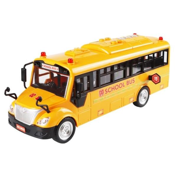 玩具模型車 玩具大號男孩寶寶兒童聲光公交車小汽車巴士玩具車模型2-3歲【快速出貨八折優惠】