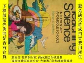 二手書博民逛書店Teaching罕見science in elementary