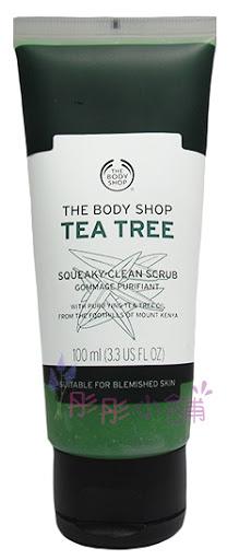 The Body Shop 茶樹淨膚淨化磨砂膏 3.3oz (100ml)【彤彤小舖】