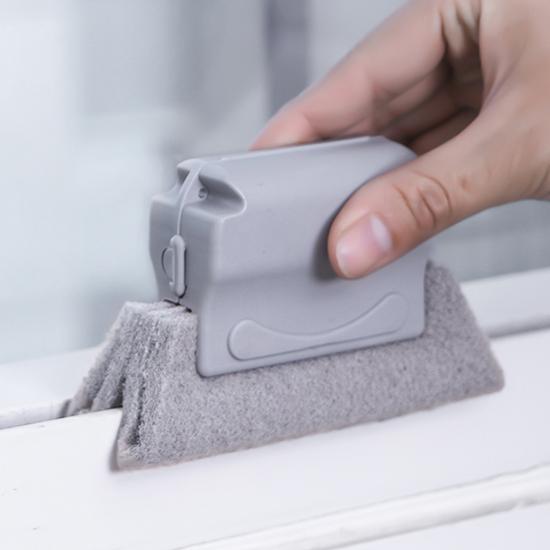 ✭米菈生活館✭【L159】多用途凹槽清潔刷 窗戶 溝槽 清潔 小刷子 清理窗台 縫隙刷 瓦斯爐 廚房