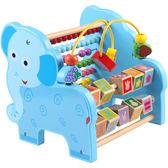 (一件免運)嬰幼兒童早教寶寶益智繞珠串珠玩具