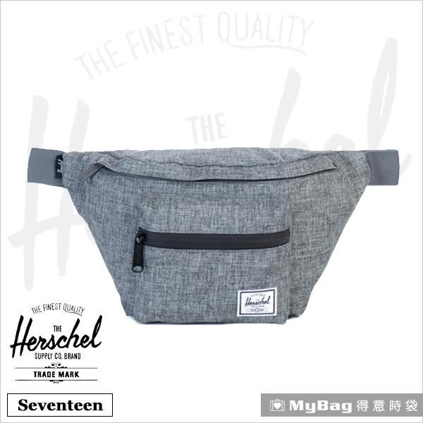 Herschel 腰包 灰色  單肩側背包 Seventeen-919 MyBag得意時袋
