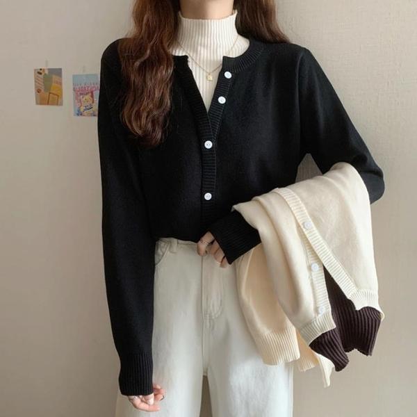 大碼胖mm遮肚顯瘦上衣洋氣針織打底衫女秋冬季內搭假兩件高領毛衣 喵小姐