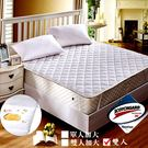 保潔墊   3M超效防汙防潑水 雙人 平式保潔墊(白) / Gloria