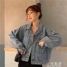 2020年新款牛仔外套女夏季薄款寬鬆韓版牛仔衣春秋短款潮百搭『艾麗花園』
