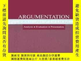 二手書博民逛書店罕見ArgumentationY364682 Frans H. Van Eemeren Routledge
