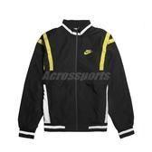Nike 外套 NSW Woven Jackets 黑 綠 男款 防風外套 立領 運動休閒 【PUMP306】 CJ4922-010
