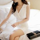 夜店性感女裝新款顯瘦夜場小心機職業氣質時尚洋裝子女夏潮   芊惠衣屋