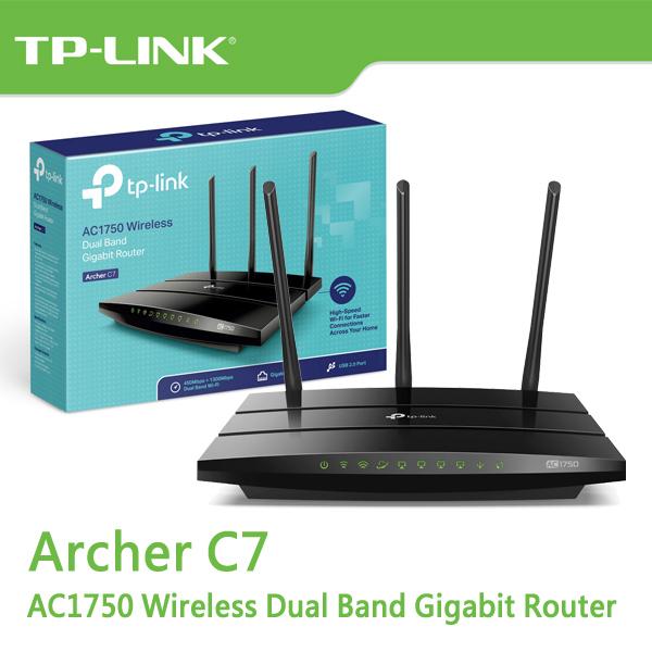 【免運費】TP-LINK Archer C7 V5 AC1750 次世代極速 Gigabit 無線路由器