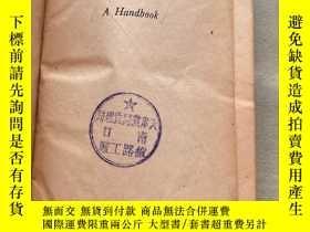 二手書博民逛書店AMERICAN罕見MALLEABLE IRON可鍛鑄鐵手冊 外文1944年Y164178 AMERICAN