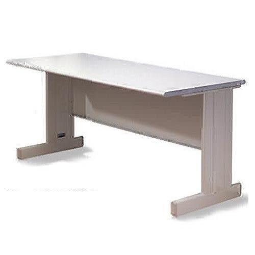 【時尚屋傢俱館】120CM 灰色辦公桌, 電腦桌(Y698-19)(免運費)(台灣製)